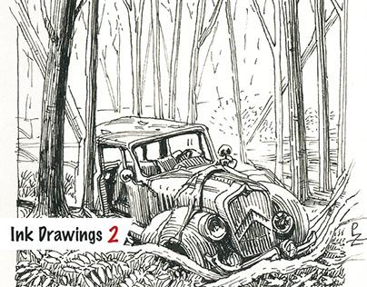 Ink drawings 2