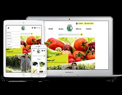 Organics-Web design