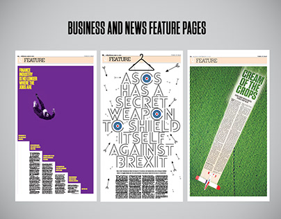 Business and news features