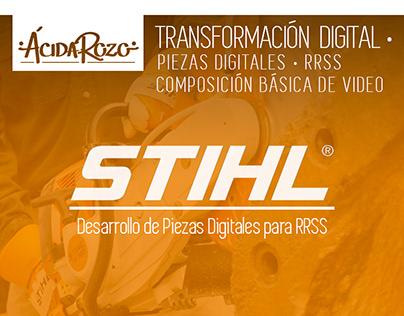 · STIHL / Piezas RRSS ·