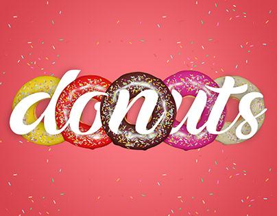 Donutlicious - Free six 3d Model