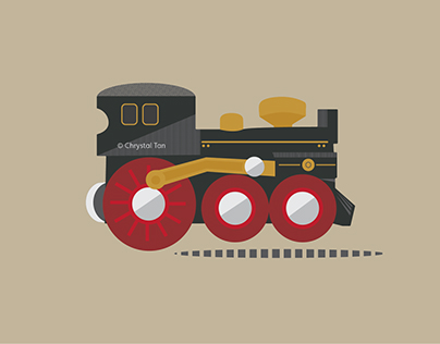 Brio Steam Engine Animation