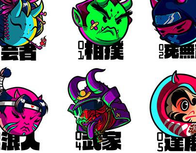 Manga Demonheads pt.1