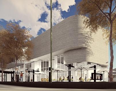 Mixed Use Building Renders for HolmJordaan