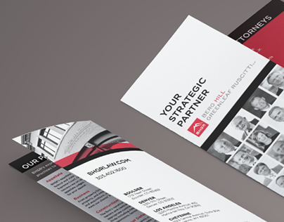 BHGR Law | Firm Brochure Redesign