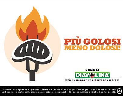 Diavolina print campaign