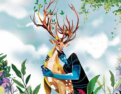 Nature and Human illustration!