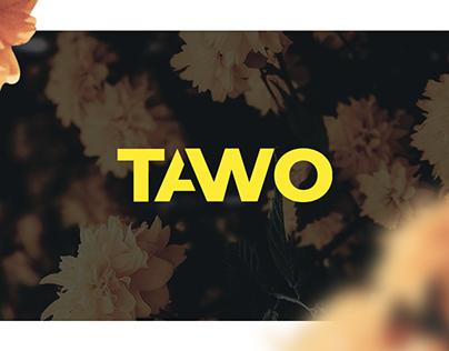 Identidade visual e Overlay - Tawo