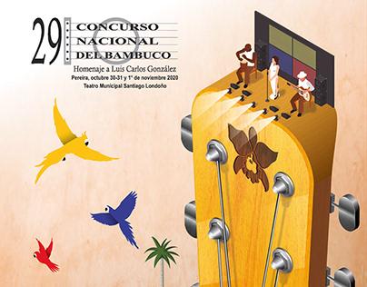 Afiche bambuco concurso nacional