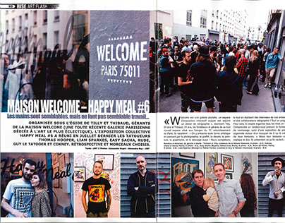 Expo Happy Meal - Maison Welcome - Rise Magazine n°26