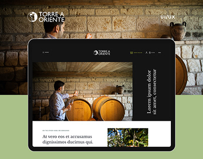 Torre a oriente - website design