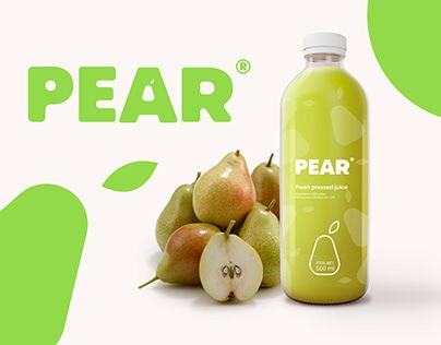 PEAR Juice - Brand Identity