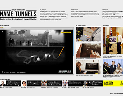 Amnesty International Name Tunnels