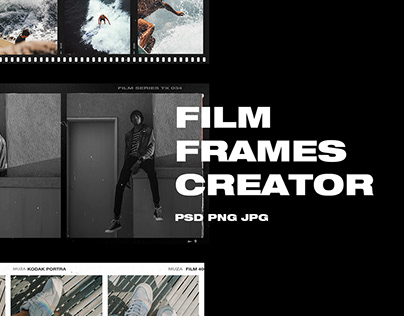 FILM FRAMES CREATOR HIGH QUALITY