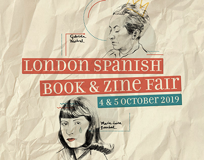 London Spanish Book&Zine Fair poster design