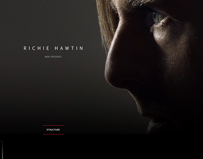 Richie Hawtin - envisioning the web presence