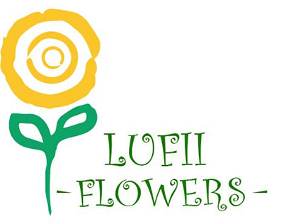Lufii Flowers Logo