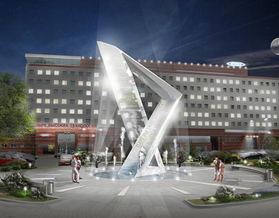 High Technologies Park in Belarus. Sculptures (COPY)