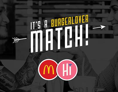 McDonald's Burgerlover Campaign