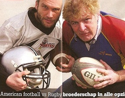 Interview battle American football vs Rugby