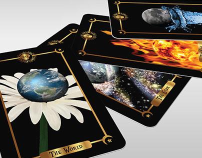 Tarot Wines Promotional Tarot Cards