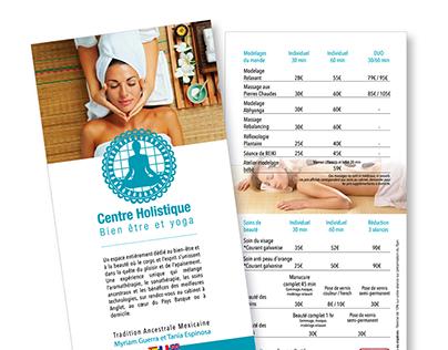 Logo et flyer / Yoga Mexique
