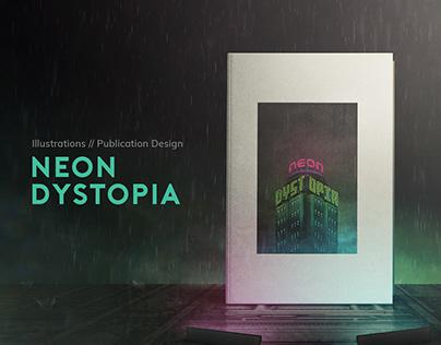 Neon Dystopia: Cyberpunk Megastructures Reimagined