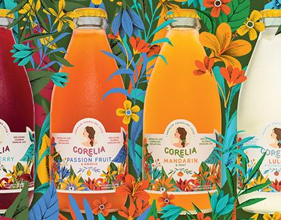 Corelia. Premium Sparkling Juice