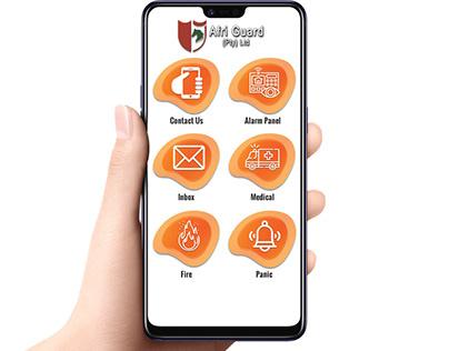 Afri-Guard Mobile App Icons