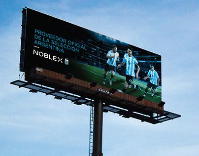 Noblex - Copa América campaign football
