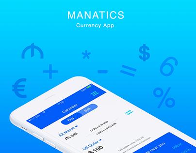 Manatics - Mobile App Design