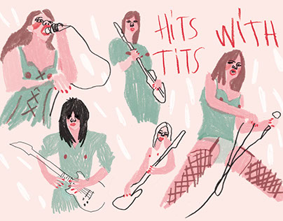 the runaways-hit with tits