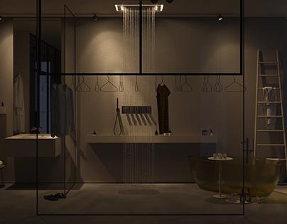 Open space bathroom #Openmsk_lab