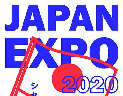 Concept d'affiche/poster - Japan Expo 2020