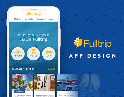 Fulltrip | App Design and Branding