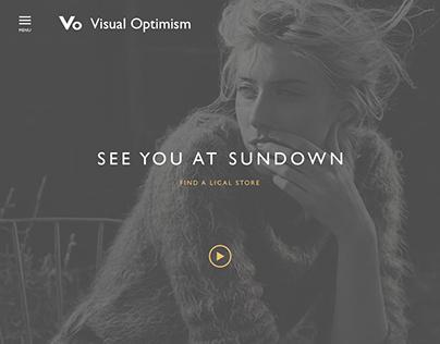 Design website for Visual Optimism