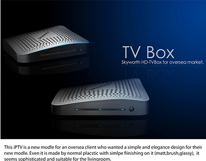 TV- box design for Skyworth ,mass produced in 2012