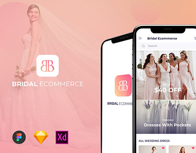 Bridal Ecommerce UI KIT