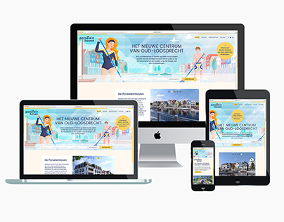 Porseleinhaven / Responsive website
