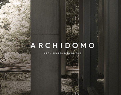 Archidomo architectes d'émotions - Branding - Web site