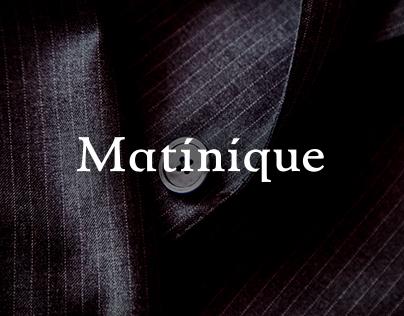 Matinique E-Commerce Re-design