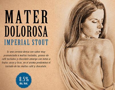 Cerveza Mater Dolorosa-Imperial Stout