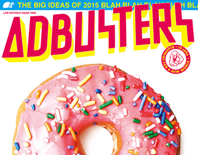 Adbusters#117: Blueprint for a New World V - Aesthetico