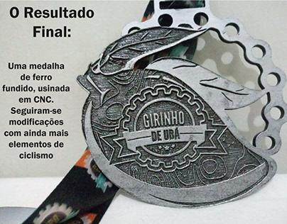 Medalha de Ciclismo - Giro de Ubá
