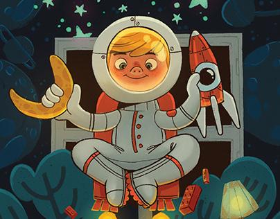 Imaginarium - illustrations for children board game