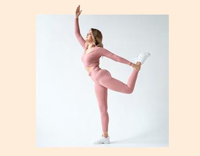 Лендинг для онлайн-курса Lady Yoga
