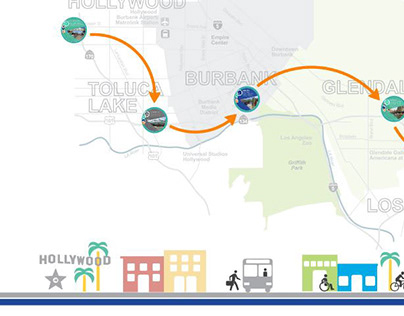 North Hollywood to Pasadena Bus Rapid Transit Prezi