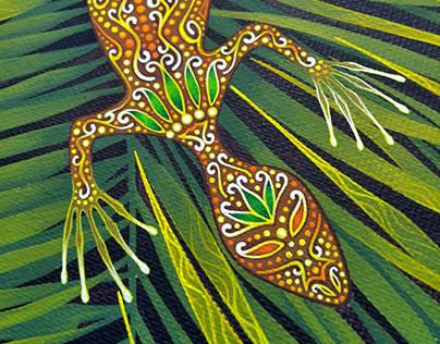 ▴◈ Salamandras ◈▴ | Decorative painting