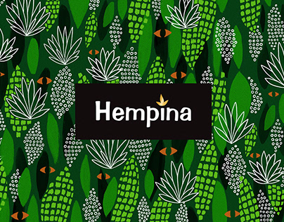 HEMPINA. Cosmetics packaging