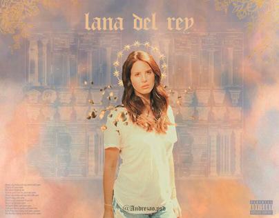 Lana Del Rey Goddess Poster